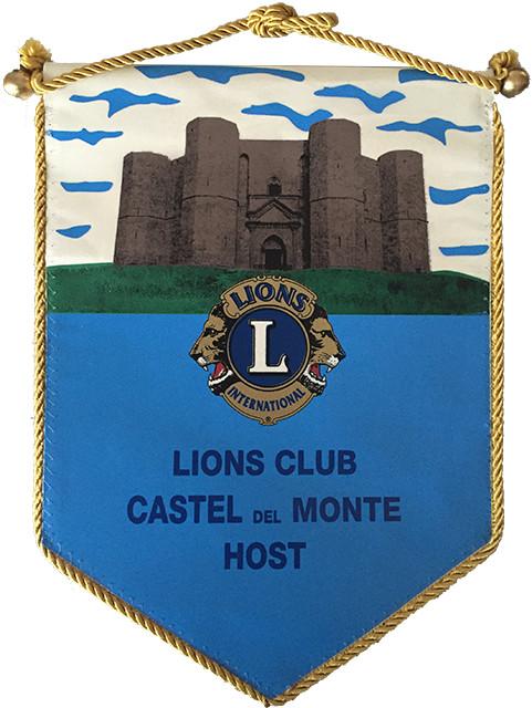 Gagliardetto Lions Castel del Monte Host
