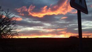 Il tramonto come il viaggio sorprende ed emoziona